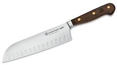 SANTOKU KNIFE CRAFTER ALVEOLADO 17 CM
