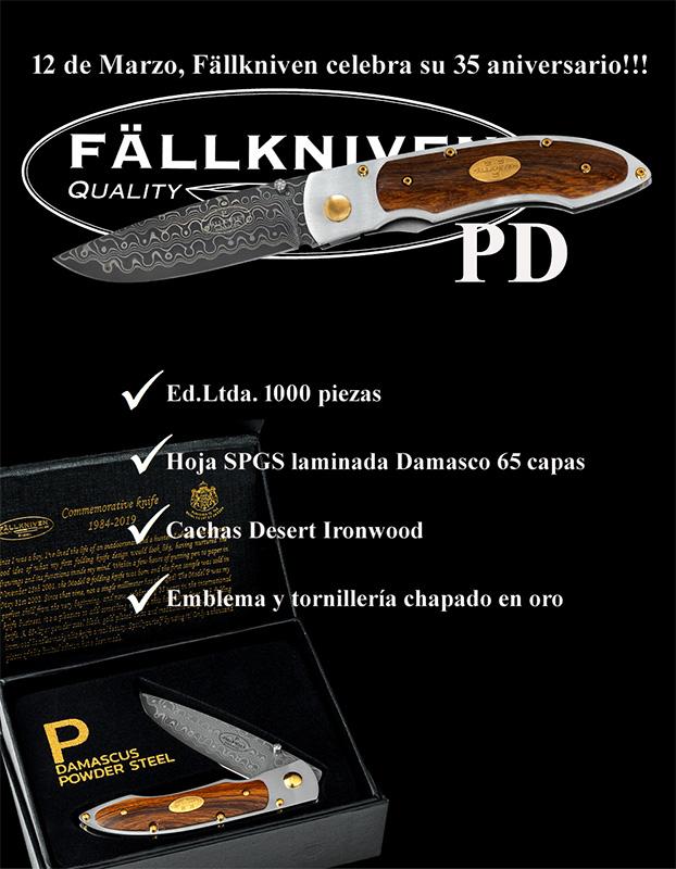 Fallkniven PD 35º Aniversario